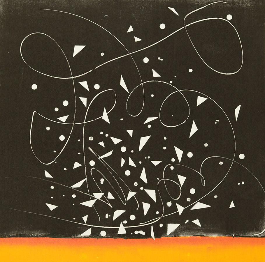 Monoprint by Irene Yesley