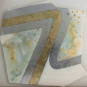 Painting on PLexi by Irene Yesley