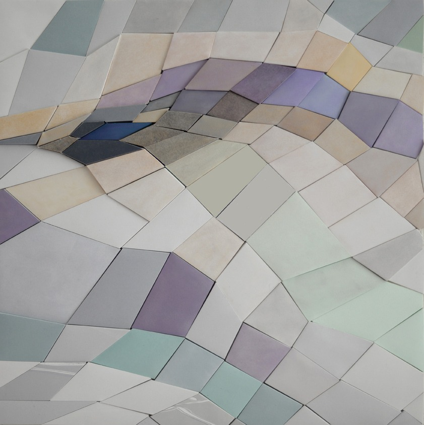 paper sculpture 3 by Irene Yesley